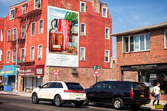 Woodford Reserve (Always Hand Paint) Tags: nyc brooklyn advertising outdoor pop spirits ooh handpaint colossal bushwick woodfordreserve outdooradvertising kingnoodle colossalmedia spiritswine skyhighmurals b136 alwayshandpaint
