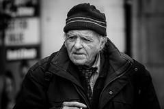 Dubliner (Frank Fullard) Tags: street ireland portrait dublin irish candid cap smoker dubliner fullard frankfullard auldstock