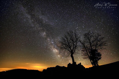 Still of the Night (Larry W Brown) Tags: nightphotography virginia nightscape astrophotography lightpollution milkyway shenandoahnationalpark greatrift