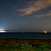 Lightning over the channel between Sussex and France