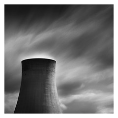 Ratcliffe Power Station (mike-mojopin) Tags: longexposure blackandwhite bw industry monochrome station power ratcliffe nottinghamshire ratcliffepowerstation