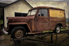 Classic Willys Overland (Estes Bob) Tags: usa texture rust auburn oldtruck willys overland
