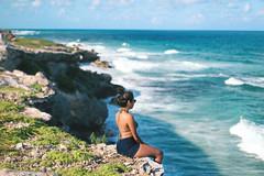 We are tied to the ocean. (Biancabltran) Tags: travel sea naturaleza mountains nature mexico mar hiking explore mujeres isla roo islamujeres quintanaroo quintana