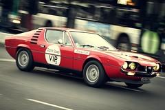 Alfa Romeo Montral 1971 (Tom BRETON) Tags: paris car canon vintage italian rally racing historic coche alfa oldcar alfaromeo 70200 f4 lightroom vigneting 600d tourauto2016