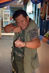 mr aggressive (the foreign photographer - ) Tags: man portraits pose thailand nikon mr martial bangkok arts mister aggressive bang bua khlong bangkhen d3200 apr232016nikon