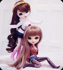( MaL Pink  ) Tags: girls cute girl doll dolls sweet sandy hipster fluffy mia kawaii pullip nina boneca greggia