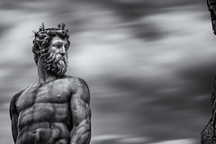 Il Biancone (the white giant)-Piazza della Signoria, Florence (shane.taremi) Tags: italy florence long exposure