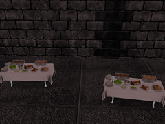 Queen Jah Baby Shower - The  Food! (Honor Winter Mohogany Di'Marzio) Tags: family friends cake secondlife royals lovesecondliferegionsnowdriftsecondlifeparcelqueenkingdimarzioroyaltybabyshowersecondlifex31secondlifey25secondlifez1081