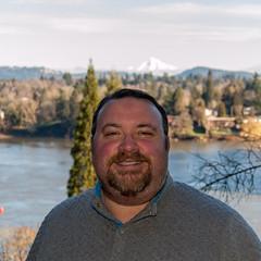 Matthew Warner (Matthew Warner) Tags: man male oregon river portland person goatee us unitedstates outdoor human willametteriver matthewwarner