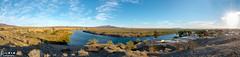 River Bend Pano (rvraddict@att.net) Tags: blue panorama mountain water river landscape nikon wide wideangle tokina riverbend d7100 tokina116 tokina111628