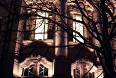 breeze (ewitsoe) Tags: street windows winter urban streets cold metal night 35mm walking lights neon day cityscape walk polska pedestrian sidewalk poznan wetpavement poalnd nikond80 ewitsoe