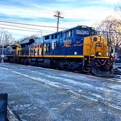 CSX (Littlerailroader) Tags: railroad train massachusetts newengland trains andover locomotive locomotives railroads csx andovermassachusetts