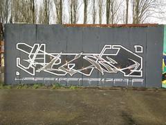 Blackstar, tribute to David Bowie (streetartwerpenaar) Tags: streetart graffiti petrol davidbowie 2016 reab graffitibelgium streetartbelgium uzee streetartantwerp
