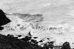 Lands End (dalecruse) Tags: landsend sanfrancisco california outdoors outdoor blackandwhite black white landscape sf water lightroom winter waves outside downtown