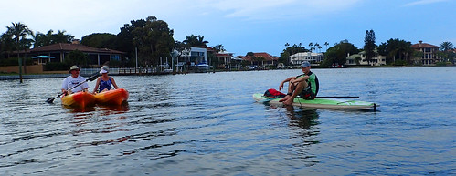 1_9_16 pm paddleboard kayak tour Lido Key FL 05