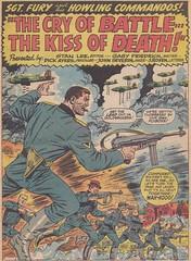 Sgt. Fury 055 / Splash Panel (micky the pixel) Tags: comics war comic krieg marvel bomber soldat heft sgtfury dickayers sgtfuryandhishowlingcommandos