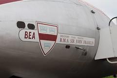 IMG_1180 (routemaster2217) Tags: bea aircraft duxford airliner turboprop imperialwarmuseum iwm propellerplane britisheuropeanairways rollsroycedart