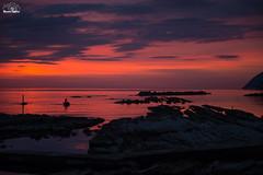 Seggiola del papa - Ancona - (GermanoCaps) Tags: sea sky mare colore alba fotografia lavori rosso vita nuova ancona lavoro passione giorno pescare inquadratura