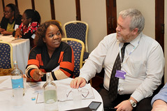 BME Consultation Conference (nasuwt_union) Tags: nasuwt education conference woman man black white speaking stand hall meal drinks happy members workshop pesident birmingham banner meeting stage positive portrait guidance crowd teachers leaders lectures students awards executive staff show tell help advice support listen adults people england scotland northern ireland wales strong women men insturction health safetly wellbeing classroom school college university table voting union best brilliant workplace seminar