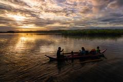 Headin' Home (allansoul) Tags: sunset sea vacation sun boats view philippines views ultrawide hdr surigao sanagustin photomatix surigaodelsur tokina1116 surigaosur labritania