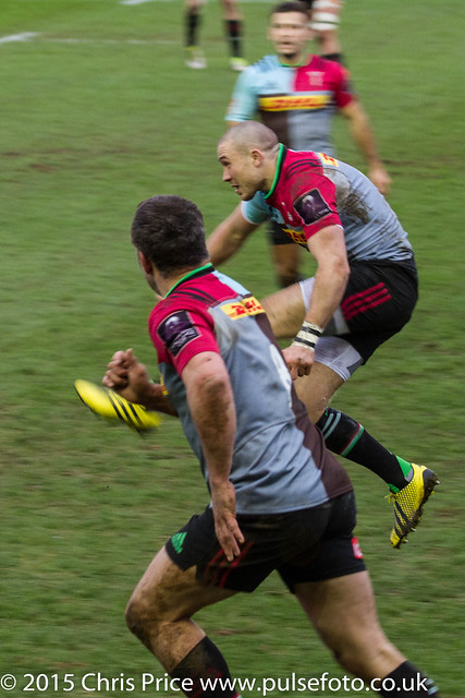 Quins 34 Cardiff Blues 26 European Challenge Cup Pool 17th Jan 2016