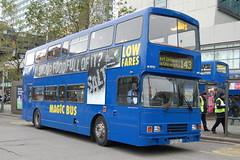 Stagecoach Magic Bus Volvo Olympian 16757 R757DRJ - Manchester (dwb transport photos) Tags: bus manchester volvo magic alexander stagecoach decker olympian 16757 r757drj