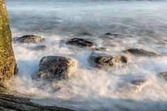 Rocks and dry ice (James Waghorn) Tags: longexposure winter sea england water kent nikon rocks waves smoky dryice folkestone hoya lr6 sigma1020f456 d7100 nd32
