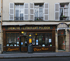 Once upon a time (Antoine - Bkk) Tags: street paris heritage restaurant polidor xm1 darktable