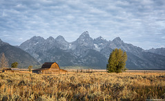 Natural and Peaceful (thomasgilbertphotography.com) Tags: usa barn wyoming grandtetonnationalpark mormonbarn canoneos5dmarkiii wwwthomasgilbertphotographycom