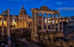 Fori Imperiali - Roma (bervaz) Tags: longexposure italy rome roma noche italia sony nocturna bluehour 2470mm largaexposicin imperioromano foroimperial horaazul sonyvariotessartfe2470mmf4zaoss ilce7r2
