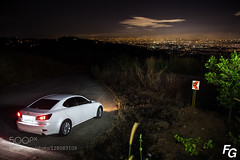 Lexus IS300 On Top of the Hill (ronenyard) Tags: street sunset summer sky urban white mountain cars beautiful skyline night clouds landscape photography landscapes twilight cityscape view philippines roadtrip shotgun uphill cloudscape montalban lexus timberland v6 is300 500px speedhunters speedhunter ifttt