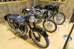 MCN London Motorcycle Show 2016 - classic motorcycles (Sacha Alleyne) Tags: show london vintage motorbike moto motorcycle excel 2016 mcn motorcyclenews carolenash a6000 mcnmotorcycleshow bsac11 sonya6000 motobi125sport