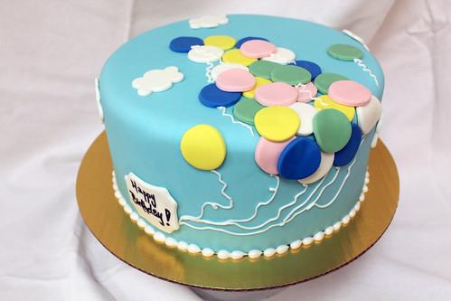Balloons Designer Cake