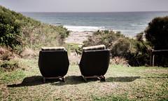Sea View (laurie.g.w) Tags: ocean sea beach coast chair view bass shoreline australia victoria shelly kilcunda