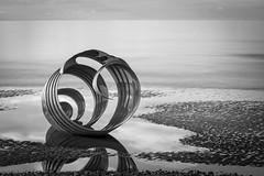 'Marys Shell'.... (Taken-By-Me) Tags: sea blackandwhite white black beach sunshine sand nikon tales shell lancashire story shore marys childrens blackpool cleveleys d610