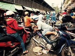 Ho Chi Minh through my lens (-Faisal Aljunied - !!) Tags: chinatown vietnamese chaos market streetphotography streetlife vietnam saigon hcmc hochiminh cholon motorcyckes faisalaljunied