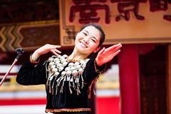 Happy Chinese New Year! (moaan) Tags: japan dance bokeh chinesenewyear dancer kobe jp utata hyogo 2016 chinesedancer chinesefestival chinesedance ef70200mmf28lisiiusm canoneos7dmarkii