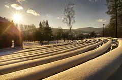 Performance, exclusively for me (Zyla, K. alone) Tags: winter landscape poland polska zima beskidniski wysowa pentaxsmc thebp inexplore pentaxlimited justpentax beskyds pentaxart pentaxda15mmlimited pentaxk30