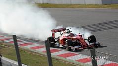 Kimi Raikkonen (Ferrari SF16-H/Scuderia Ferrari) (S. Le Bozec) Tags: f1 ferrari formule1 formula1 barcelone montmelo kimiraikkonen circuitdecatalunya scuderiaferrari sf16h