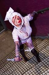 NOZOMI WINTER (El Seor Gato) Tags: silent pentax cosplay hill hell nurse nozomi konami talca maule cosplaychile k5ii