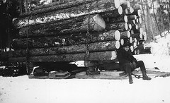 Charlie Annis (Foreman) of the MacDonald Group (CDHS) Tags: logging logger sled macdonald foreman skidder charlieannis