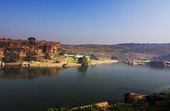 Aghatsya Lake, Badami (Vamshi Krishna S) Tags: lake badami aghatsya aghatsa