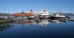 Rothesay Harbour with MV Argyle Alongside (Russardo) Tags: ferry scotland clyde pier mac harbour cal argyle isle calmac mv caledonian bute rothesay macbrayne