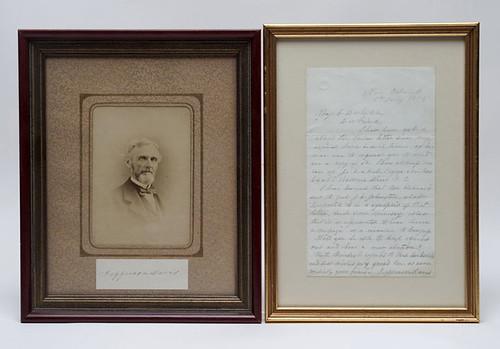 Confederate President Jefferson Davis Items  $880.00