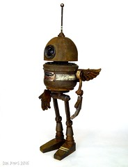 Aerowax ~ by Dan Jones (Tinkerbots) Tags: sculpture make metal toy toys robot rust punk industrial noir y mechanical handmade assemblage unique character creative machine rusty ufo explore foundobjectsculpture rusted xray scifi imagine imagination boingboing foundobjects outerspace comiccon gears salvage makebelieve foundobject prop waroftheworlds reuse steampunk assemblageart danjones mixedmedium junkart lasergun junksculpture industrialage foundobjectart assemblagesculpture dieselpunk odditie aerowax devicegallery tinkerbots tinkerbot tinkerbotstoys