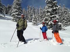 Dans la peuf jusqu'aux chevilles (Jauss) Tags: ski alps alpes sterreich neige jules alpen tyrol autriche gaspard kitzbhel