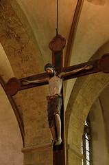 Cappenberg, Westfalen, Stiftskirche, crucifix (groenling) Tags: wood germany de deutschland cross jesus carving kreuz crucifix nrw woodcarving westfalen stiftskirche nordrhein cappenberg