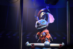 Stitch is up to something (Nastassia Alvarez) Tags: dark stitch object disney trouble waltdisneyworld magickingdom mischevious darkride