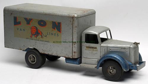 "Vintage Smith-Miller Mack L ""Lyon Van Lines"" Toy Truck - $352.00 (Sold March 20, 2015)"