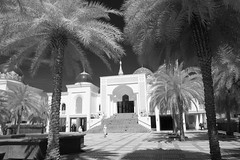 Al Bukhary Mosque in infrared.(black and white) (Kamaruz Zaman) Tags: canon infrared blackandwhiteinfrared canonphotography autumninfrared autumnbyazamalwi
